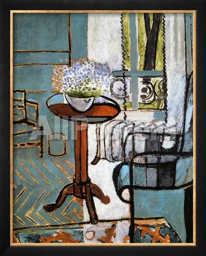 Nomeolvides en La ventana Lámina giclée enmarcada por Henri Matisse ...