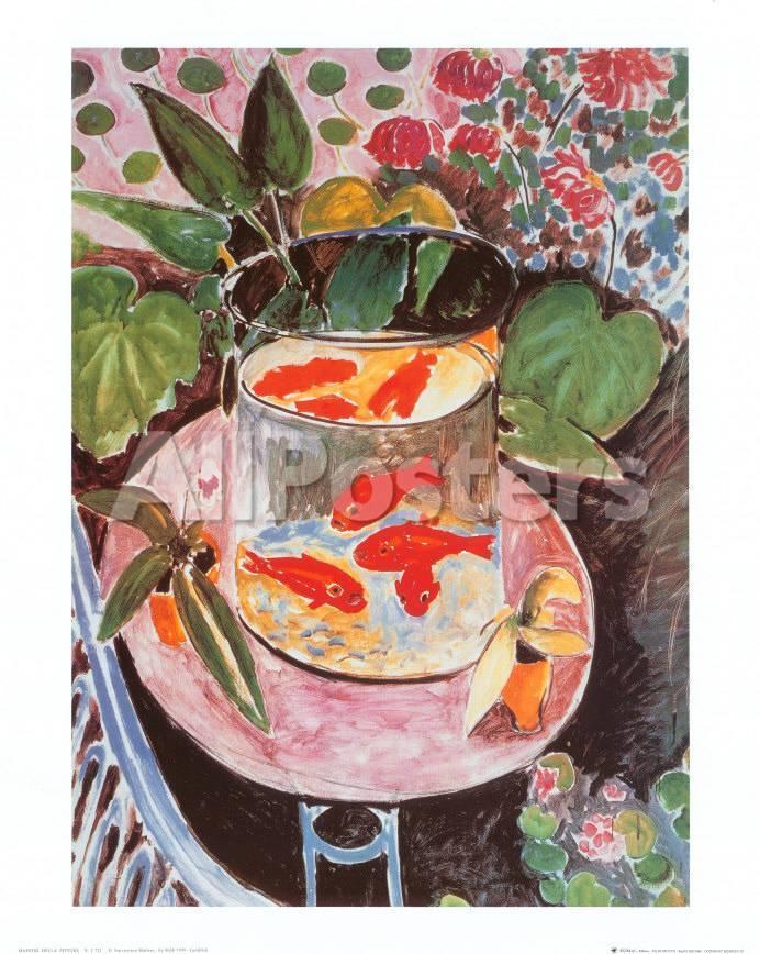Peces dorados Láminas por Henri Matisse en AllPosters.es