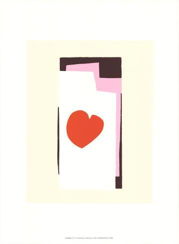 The Heart VII Serigraph