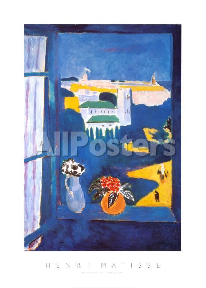 Ventana en Tánger Pósters por Henri Matisse en AllPosters.es