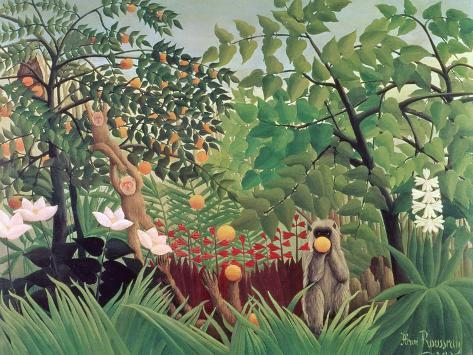 Exotic Landscape, 1910 Giclee Print