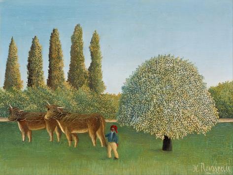 Meadowland (The Pasture) Lámina giclée