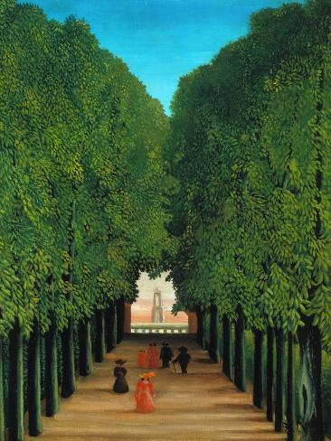 The Avenue in the Park at Saint Cloud, 1907/08 Giclee Print