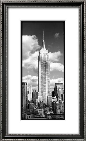 Empire State Building Framed Art Print
