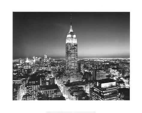 New York, New York, Empire State Building Art Print