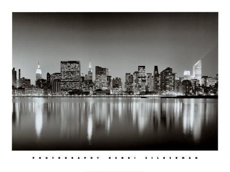 New York, New York, Manhattan East Side Art Print