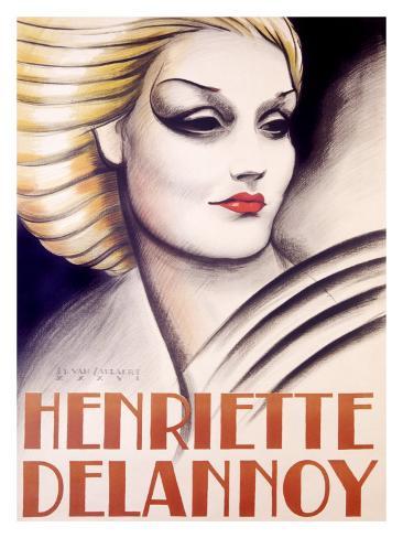 Henriette Delannoy Stampa giclée