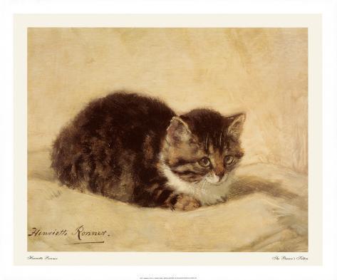 The Parson's Kitten Art Print