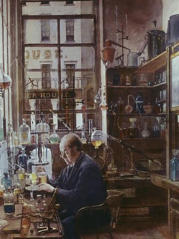 Laboratory of Thos Price Giclee Print