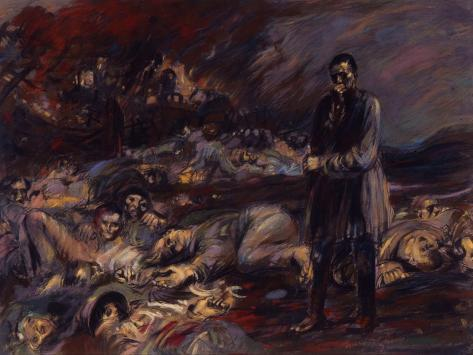 The Charnel House (Courrière) Giclee Print