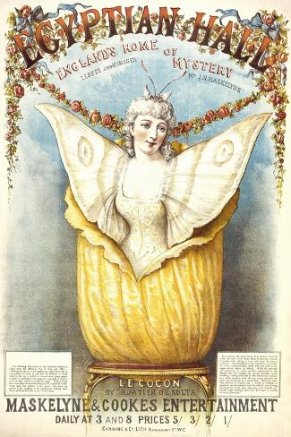 The Cocoon Illusion Presented by Buatier De Kolta at the Egyptian Hall Giclee Print