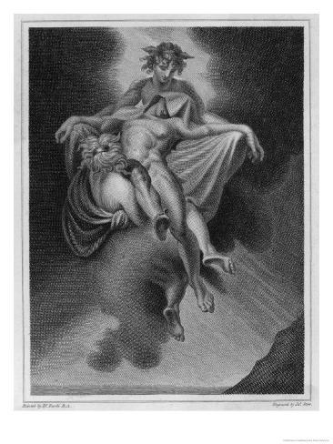 Death as Perceived by the Ancient Greeks Giclee Print