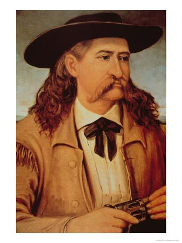 James Butler Wild Bill Hickok Stampa giclée