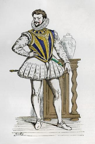 Henry I, Duke of Guise, French Soldier and Politician, 16th Century (1882-188) Giclee Print