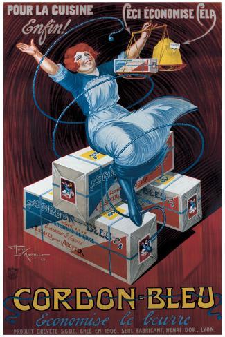 Cordon Bleu Giclee Print