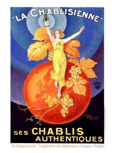 La Chablisienne Giclee Print