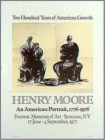 American Portrait Art Print