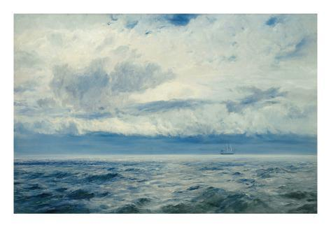 Storm Brewing, 1890 Giclee Print