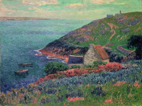 The Bay of Biscay, Brittany Giclee Print