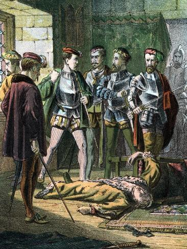Henry of Lorraine, 3rd Duc De Guise, 16th Century French Soldier and Statesman, Mid 19th Century Giclee Print
