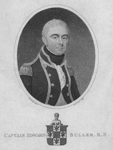 Captain Edward Buller, R.N., 1806 Giclee Print