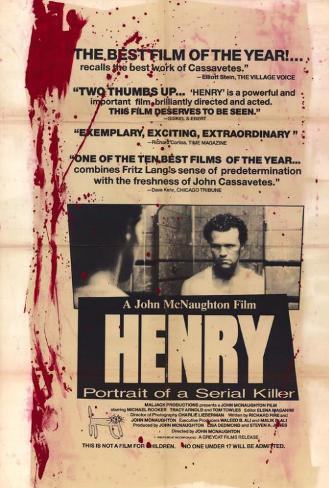Henry: Retrato de um Assassino Pôster