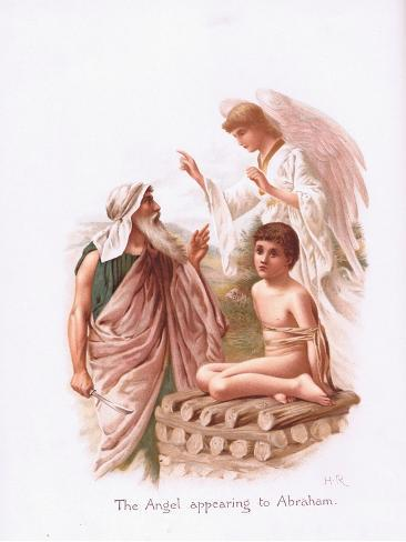 The Angel Appearing to Abraham Stampa giclée