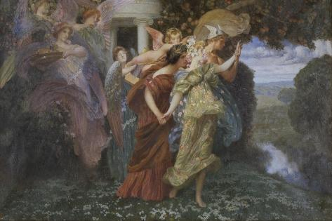 The Marriage of Persephone Giclee Print