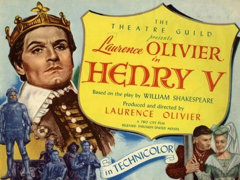 Henry V, 1944, Directed by Laurence Olivier Giclee Print