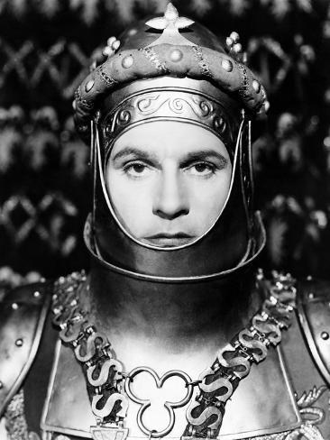 Henry V, Laurence Olivier As King Henry V, 1944 Fotografía