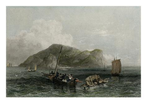 Terceira, Engraved by Edward Finden (Engraving) Giclee Print