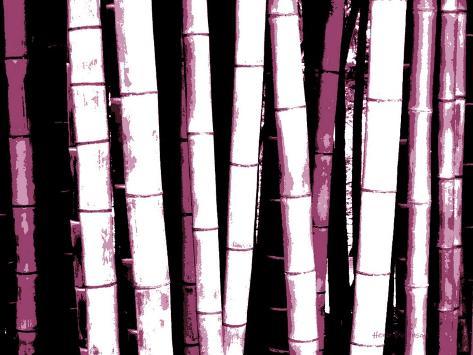 Enchanted Bamboo Wine Photographic Print