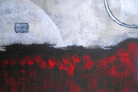 Scarlet Creation Art Print