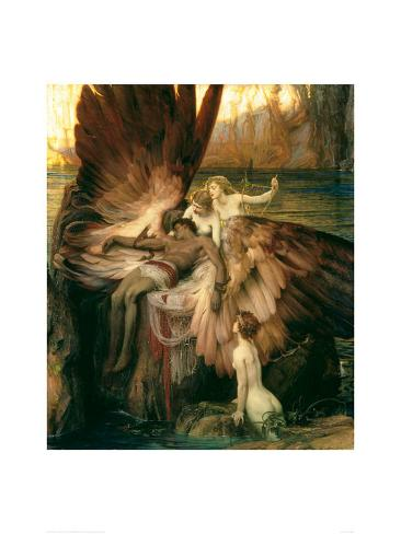 Lament for Icarus Gicléetryck