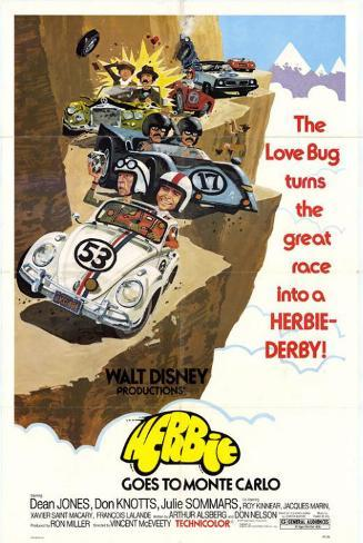 Herbie Goes to Monte Carlo Masterprint