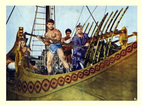 Hercules Samson and Ulysses, 1965 Art Print