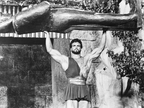 Hercules Unchained, (Aka Ercole E La Regina Di Lidia), Steve Reeves, 1959 Fotografía