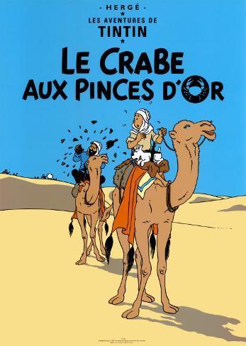 Le Crabe aux Pinces D'Or, c.1941 Impressão artística