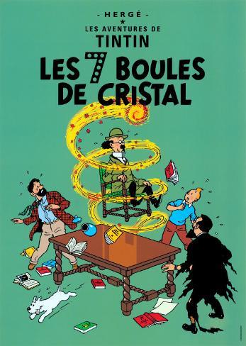 Les 7 Boules de Cristal, c.1948 Art Print