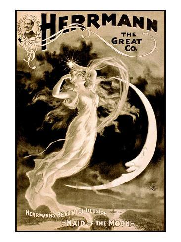 Herman the Great Magician Giclee Print