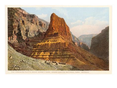 Hermit Camp, Grand Canyon Art Print