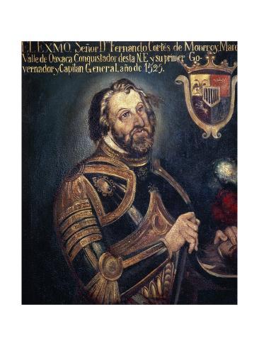 Hernan Cortes Giclee Print