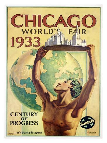 World's Fair, Chicago, c.1933 Giclee Print