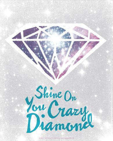 Shine On You Crazy Diamond Serigraph