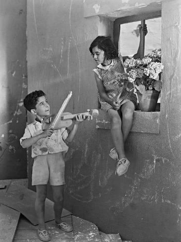 Heroes of the District, 1937 (Los Heroes Del Barrio) Photographic Print