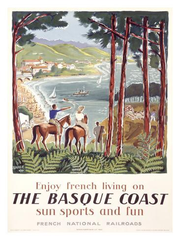 Basque Coast Giclee Print
