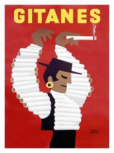 Gitanes Cigarettes Giclee Print