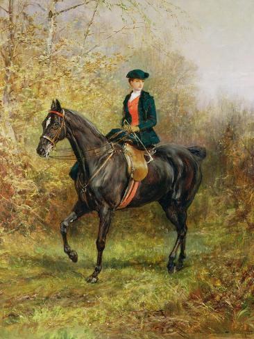 The Morning Ride, 1891 Lámina giclée