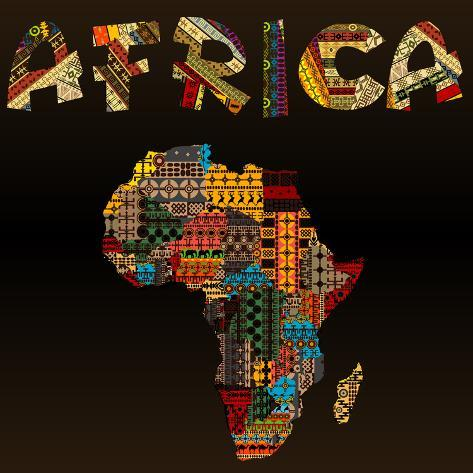 Africa map with african typography made of patchwork fabric text africa map with african typography made of patchwork fabric text gumiabroncs Gallery