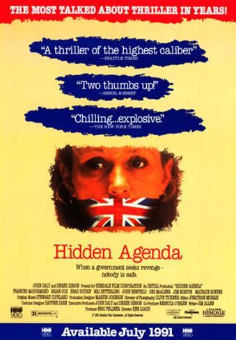 Hidden Agenda Poster